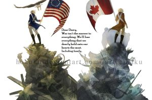 Dear Dairy - America And Canada by sar-sar-is-me