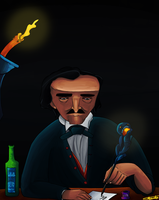 The Raven by Edgar Allan Poe by Mkemaster
