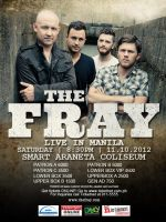 The Fray Live in Manila Poster by emman03