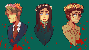 Flower Crown Court by meixx