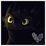 Toothless Speedpaint by shayfifearts