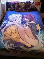 Tidus and Yuna 60x80 Blanket by Kaytes-Blanket-Sets