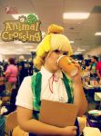 Isabelle from Animal Crossing New Leaf Cosplay by maradfan