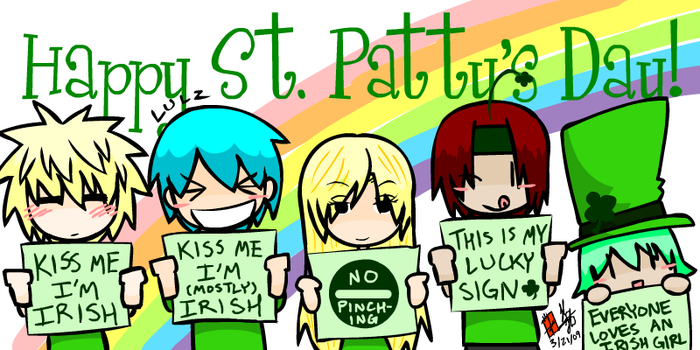 St. Patty's Day by ItaLuv