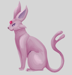Espeon by Messenger-Pigeon