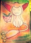 Little skitty by Varr24