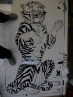 White Tiger: Step 1 by FireKat