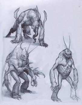 Sketches by Mavros-Thanatos