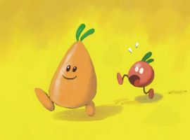 Fruit race - color by fabianfucci