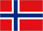 Norwegian flag by TheHayaoMiyazakiFan