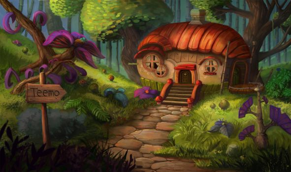 Teemo house by MooonRiver