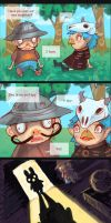 Animal Crossing : YOU DIDNT SEE HER EYES by kpelto-illustration