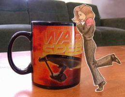 Paper Janeway: Out of Coffee by chill13