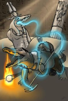 Sobek's Blessing by Nolhyaa