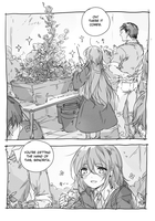 growing roses by yukihomu