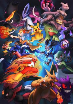 Pokken Tournament by Haychel