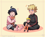 Himawari and Bolt Commission by shock777