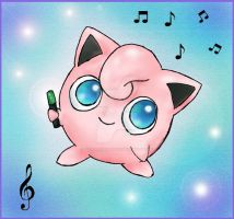 Jigglypuff by floralauraheart