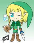Hyrule Warriors Linkle *Ocarina of Time* by gaming123456