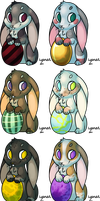 Happy Easter :D Batch 2 by Lysnat