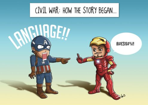 Civil War: How the Story Began by Xiaoyu85ve