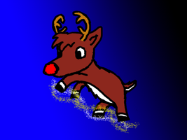 Rudolph the Red-Nosed Reindeer by MetaKnight2716