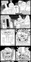 Lou Ghastly pages 1 and 2 by MichaelJLarson