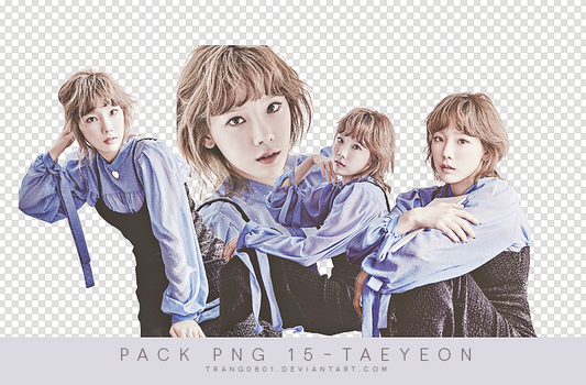 1912.pack png 15.Taeyeon by t-cattleya