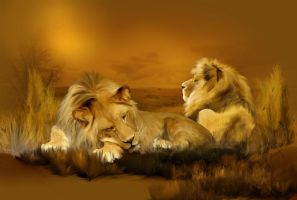 Rest time of Kings by DeniseWorisch