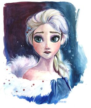 Elsa: Olaf's Frozen Adventure by Paulina-AP