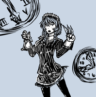 Time Manipulating Maid by Staris-Chan