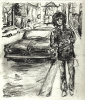 Syd Barrett by vtotheicky