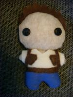 Nathan Drake Plushie by CheesyHipster