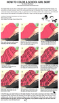 Skirt Coloring Tutorial by Kanon-Bouchaan
