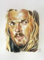 Karl Urban - Eomer - Lord of the Rings by dmkozicka