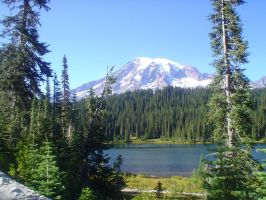 Mt Rainier 2 by Lill-stock