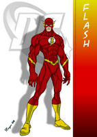 DC Comic's Flash by skywarp-2