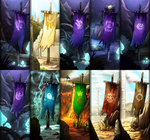 Comiss: FR Clan Banner Compile by dragoonwys
