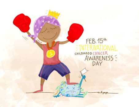 Childhood Cancer Awareness Day by aidpol