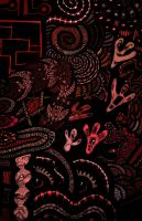 Detail from -Fjord- In Red by afac86