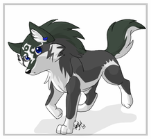 Chibi Link Wolf by DrMario64