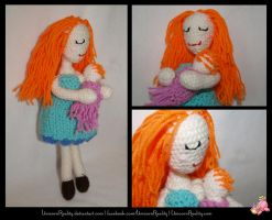 Mother Earth Breastfeeding Doll by UnicornReality