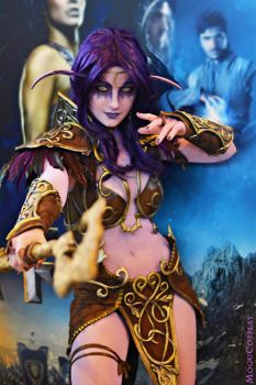 Night Elf - World of Warcraft by MoguCosplay