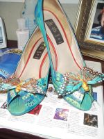 HeeLs paiNted PrettY by abstractjet
