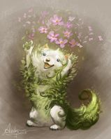 Have some flowers! by AlectorFencer
