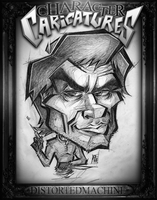 CHARACTER CARICATURES: Dexter Morgan by Austin-Hodge