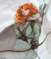[ASoIaF] Ygritte by GrovilleS