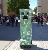 Creeper cosplay by Thatratass