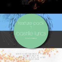 Texture Pack 01 - Bastille Lyrics by Ceeruz