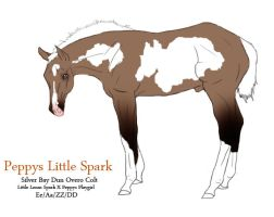 SOLD - Peppys Little Spark by ShiningSparkRanch